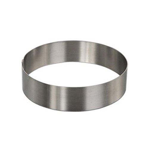 Decora Cerchio, Acciaio Inox, Argento, 26 x 4 cm, 1