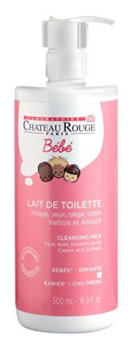 Chateau rouge lait de toilette bébé 500ml