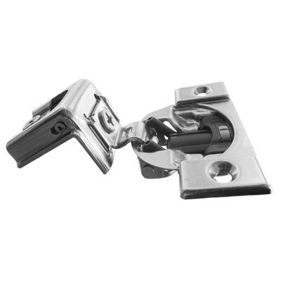 Pro Pack of 10Pcs, Compact Blumotion 39C (New Bmn) Hinge & Plate, For 1-1/2 Overlay, Wraparound, Screw-On by handyct