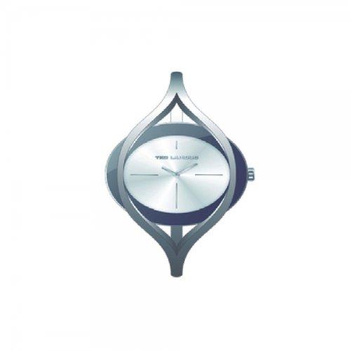 Ted Lapidus B0219RBIX - Reloj analógico de cuarzo para mujer, correa de otros materiales color blanco