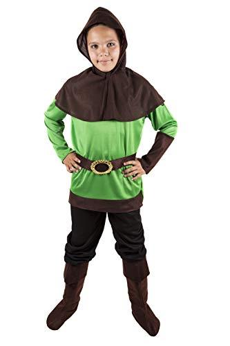 Costumizate! Robin Hood Kostüm Verschiedene Größen für Kinder Kostümpartys oder Karneval