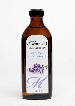 Mamado - Olio di lavanda puro al 100%, per pelle e capelli, 150 ml