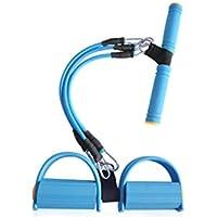 Grip Strengthener Bandas de Resistencia Desmontables Pedal Pedal Muscle Training Exerciser para Entrenamientos en casa (Azul)