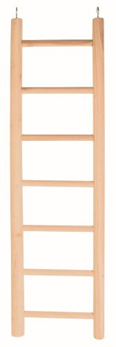 Trixie Wooden Ladder for Parrots with Seven Rugs, 70 cm 1