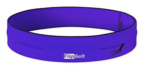 FlipBelt Classic Running Belt Violet Small 26