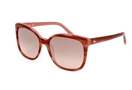 Lacoste Damen L747S 234 57 Sonnenbrille, Striped Nude,