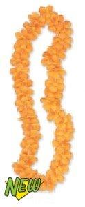 Hee-flor-Lei-hawaiano-collar-volar-cheerobics-Color-naranja-12-unidades-98-x-78-x-39
