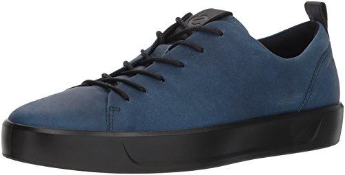 ECCO Men's Soft 8 Tie Fashion Sneaker,indigo black,39 M EU (5-5.5 US) Ecco Black Tie