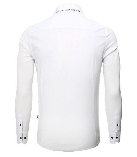Carisma - Chemise homme élégante Chemise CRSM8244 blanc - Blanc Blanc