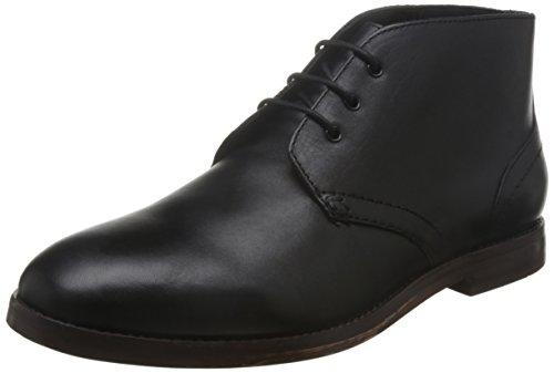 Hudson London Houghton 2 Calf, Herren Chukka Boots, Schwarz (Black), 44 EU (10 Herren UK) (Boots London Calf Schwarz)