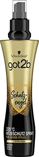 Schwarzkopf got2b Spray schutzengel 220°C Hitzeschutz, 1er Pack (1 x 200 ml)