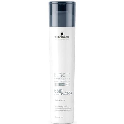 Schwarzkopf Professional - Shampooing pour cheveux clairsemes BC Bonacure Hair