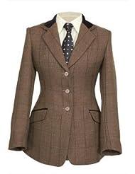 Shires Show para ropa de niños Huntingdon piratear chaqueta de hípica para niños (marrón herringbone)