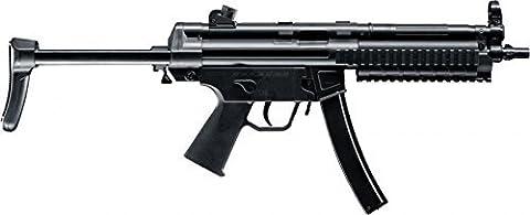 SET: Heckler & Koch MP5 A5 RAS EBB H&K Metall Gear Box AEG ELEKTRISCH Gewehr + G8DS® BIO Softairkugeln 6mm 0,20g 2000 BBs