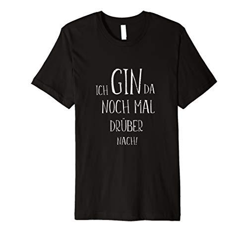 GIN TONIC Cocktails Fan Alkohol Sprüche T-Shirts Geschenke