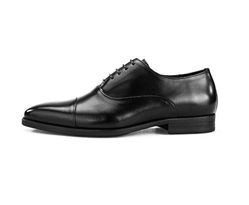 HENGJIA Herren Freizeitliche Arbeitsschuhe Klassischer Schnürhalbschuh Oxford-Schuh S2833-2 Braun