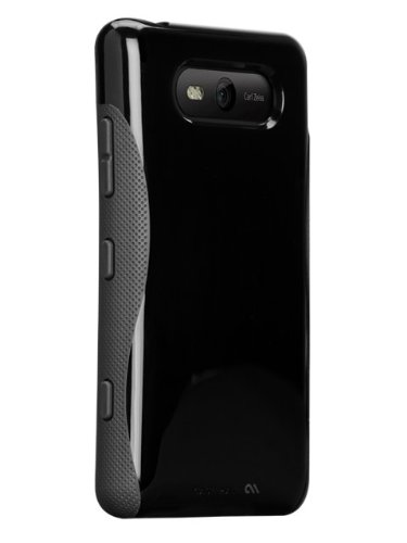 Case-Mate Pop CM023379 Case for Nokia Lumia 820 (Black-Grey)  available at amazon for Rs.179