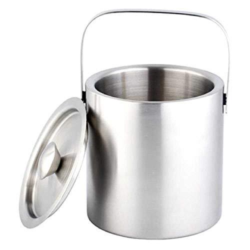 HUA-Ice bucket Cucharón De Hielo Grande De Acero