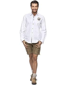 Stockerpoint Trachten Herren Hemd mit Stickerei