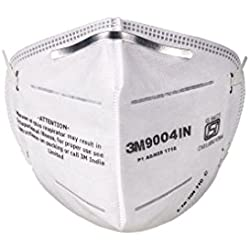 3M 9004 IN Particulate Respirator, White, Pack of 10