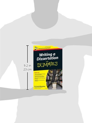 dissertation for dummies Writing essays for dummies posted on october 13, 2014 by essayshark of course, your instructors say writing essays is an easy task, but that does not mean that you are a dummy if they are difficult for you.