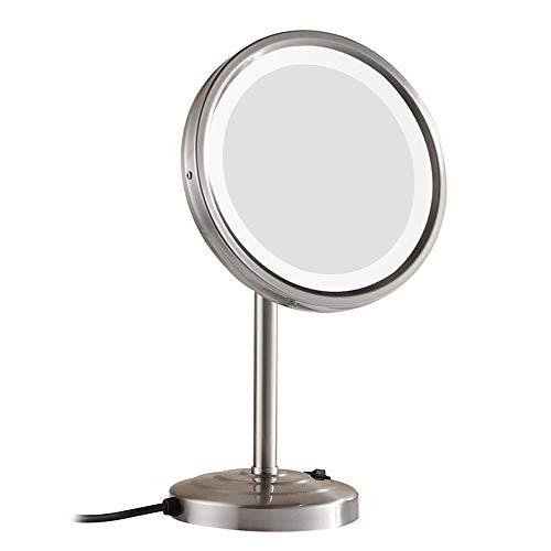 Kosmetikspiegel Schminkspiegel Wandspiegel Mit Led Beleuchtung Und 7-fach Zoom Erfrischung Spiegel