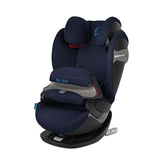 Cybex - Silla de coche grupo 1/2/3 Pallas S-Fix, silla de coche 2 en 1 para niños, para coches con y sin ISOFIX, 9-36 kg, desde los 9 meses hasta los 12 años aprox.Indigo Blue (B07GL7GHPW) | Amazon Products