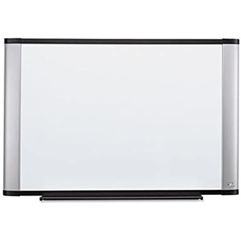 Melamine Dry Erase Board, 48 x 36, Aluminum Frame, Sold as 1 Each by 3M