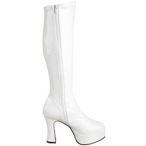 Pleaser Exotica-2000, Stivali donna Bianco (White)