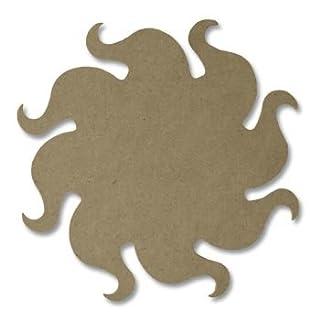 ALEA Mosaic Wooden MDF Support Sun, size 26 Cm, x1