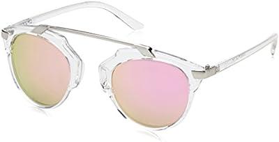D.Franklin DUBAI TRANS / PINK - gafas de sol, unisex, color rosa, talla UNI