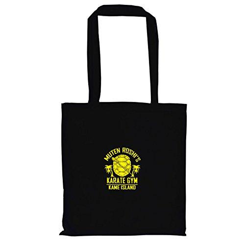 Kostüm Ball Dragon Goten Z - TEXLAB - DBZ: Karate Gym Kame Island - Stoffbeutel, schwarz