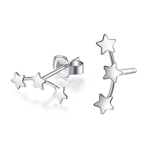 yanlei-925-sterling-silver-mini-triple-stars-ear-studs