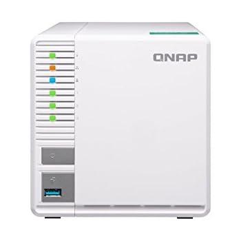 QNAP TS-328, 3bay, 2GB RAM, Budget-friendly RAID 5 NAS (Network-attached  Storage), Private Cloud, Backup, Data & Multimedia Centre