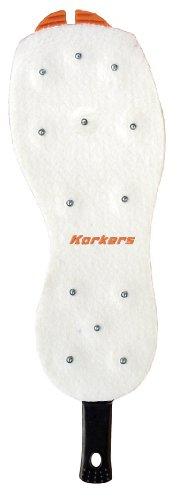 korkers omnitrax V3.0Studded fieltro pesca zapatos suela - FA3050-15, 15, blanco/anaranjado