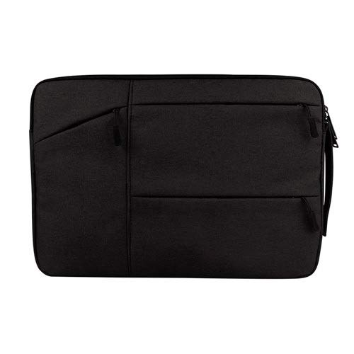Aktentasche Laptop-Tasche for 13 14 15 15,6 Zoll Laptop-Hülle PC Tablet Case Cover (Color : Black, Size : 13.3 inch) -