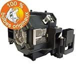 easylamps oi-elplp57lámpara para proyector Epson negro