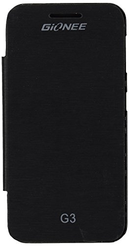 iCandy™ Synthetic Leather Flip Cover For iBall Andi 4.5KKe+ - BLACK  available at amazon for Rs.170
