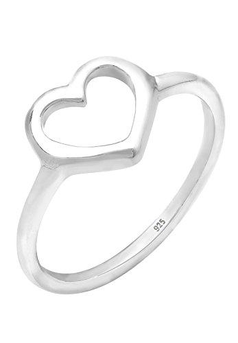 Elli Damen-Ring Herzen 925 Silber Größe 56mm 0605112411_56