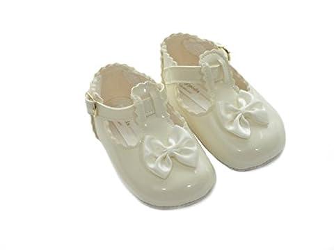 The Gorgeous 1 , Chaussures premiers pas pour bébé (fille) - blanc cassé -