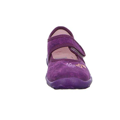 Super fit 6-00282-36 Mädchen Hausschuh Kaltfutter Violett