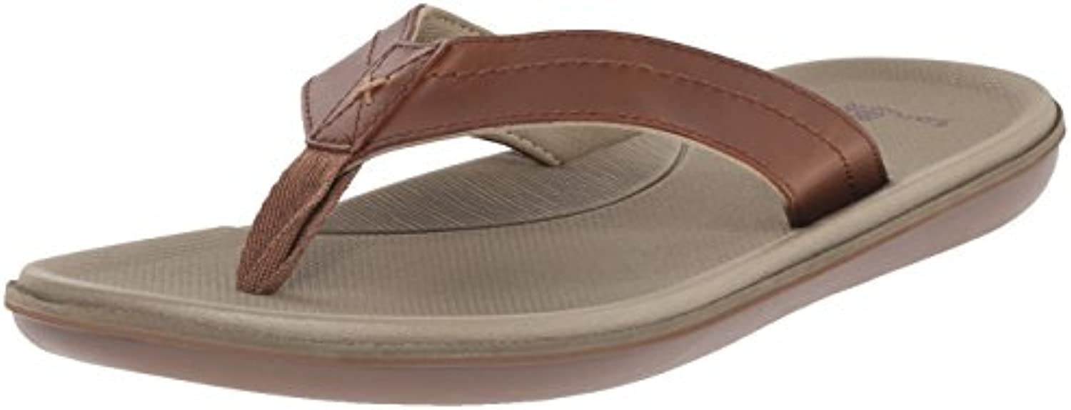 Sanuk Men's Planer Flip Flop  Tan  8 M US