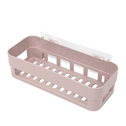 LIAOLEI10 Badezimmer Regal Klebstoff Bad Organizer Dusche Regal Lagerregal Stick Typ Ecke Shampoo Halter Korb Küche Badzubehör Günstige, Khaki -