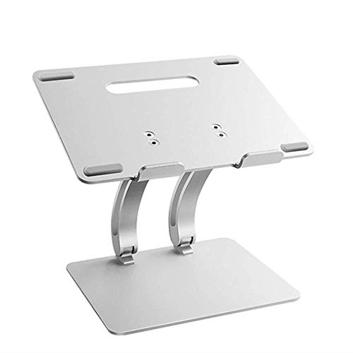 KLEDDP Laptop-Ständerhalterung, Multifunktionaler Tischständerkühlfuß, Klappbarer Desktop-Laptop-Kühler, Grau Computer Stehen