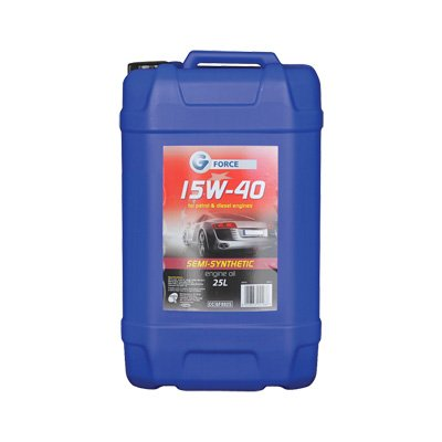 G-Force 15w-40 Semi-Synthetic Engine Oil 25 litre