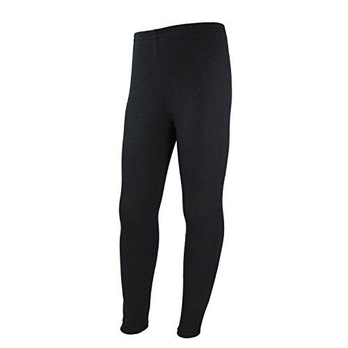 TupTam Mädchen Leggings Lange Leggins Blickdicht Baumwolle , Farbe: Schwarz, Größe: 140