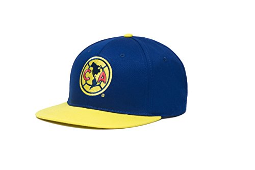 Fi Collection Club America Basic Collection Zwei Tone Snapback Hat, Navy/Gelb, One Size - Ton-club-kit