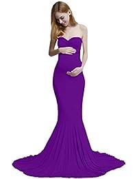 K-youth Vestidos Largos Embarazada Fiesta Vestidos Embarazada Fotografia Vestido para Mujeres Embarazadas Vestidos De