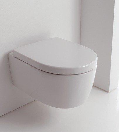 Preisvergleich Produktbild Keramag iCon xs Wand-WC spülrandlos 204070000 weiß