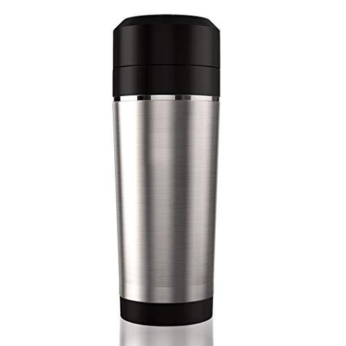 Red Wasserkocher, Edelstahlisolierung, doppelte Verbrühschutzkanne, automatische Abschaltung der heißen Tasse, automatische Abschaltung und Trockengehschutz